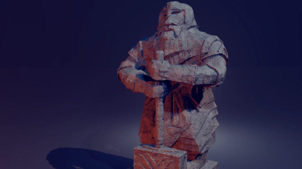 Dwarven Statue